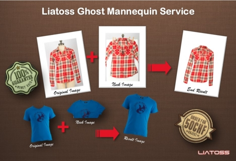 Ghost mannequin service